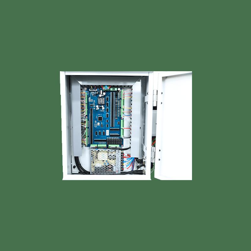 Двухосная система управления электрической коробкой JBE