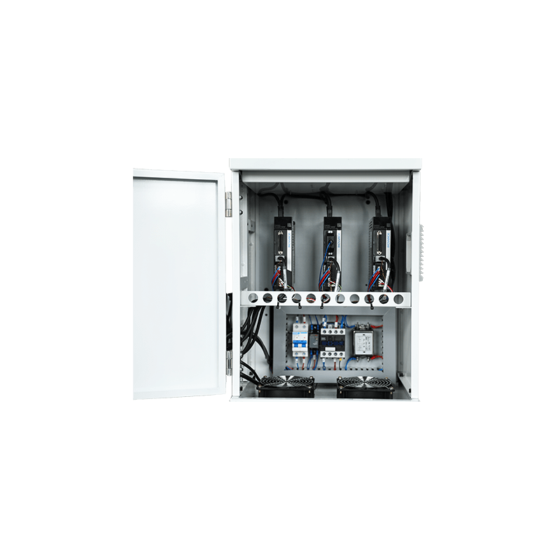 Трехосный электропривод JBF