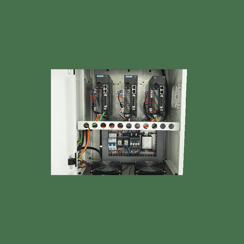 Трехосный электропривод JBH
