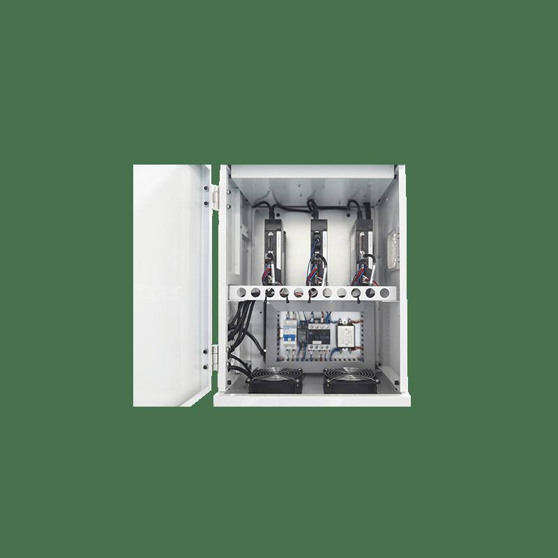 Трехосное электрическое приводное устройство